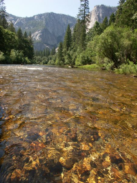 Yosemite from Merced River